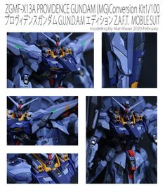 MG Providence Gundam Custom Conversion Kit by foxtrot Providence Gundam, Custom Gundam, Robot Art, Conversation, The 100, Movie Posters, Film Poster, Billboard, Film Posters