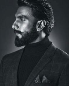Bearded, dapper and dashing, Indian actor Ranveer Singh Bollywood Stars, Bollywood Fashion, Bollywood Actress, Bollywood Celebrities, Bollywood News, Ranveer Singh Beard, Glamour World, Bae, Beard Game