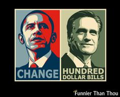 change vs. hundred dollar bills and change won ?!?!?!?!