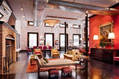 loft apartments new york/images | 30 Million Luxury Loft Apartment in Tribeca, New York City DesignRulz ...