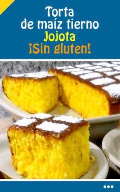 Jojota Without gluten! Venezuelan Food, Corn Cakes, Boiled Eggs, Hard Boiled, Egg Recipes, Cornbread, Bakery, Sweet Treats, Deserts