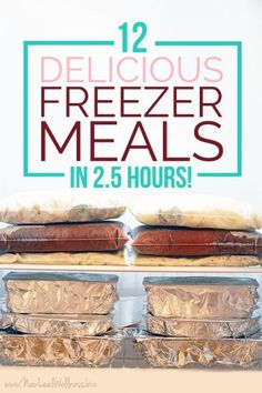 When I was pregnant with my 4th baby I stocked our freezer with 40 homemade freezer meals and it was the best thing ever. Freezer Friendly Meals, Slow Cooker Freezer Meals, Make Ahead Freezer Meals, Crock Pot Freezer, Dump Meals, Freezer Recipes, Crockpot Meals, Dump Recipes, Family Recipes