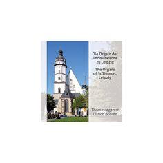J.S. Bach & Krebs & Piutti - The Organs of St Thomas Leipzig (CD)
