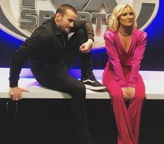 CM Punk & Renee Young