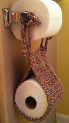 TP TeePees a toilet paper holder for the by MerciBeaucoupYall, $15.00