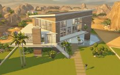 Via Sims: House 19 - The Sims 4