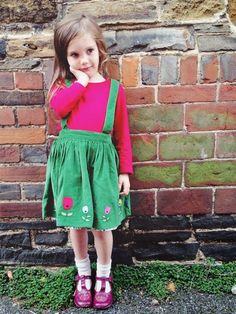 Modern Mummy: Daisy's Daily Outfit ♥ Colourful Tulips // Little Bird by Jools Oliver // Mothercare // Clarks