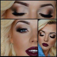 Labios oscuros makeup