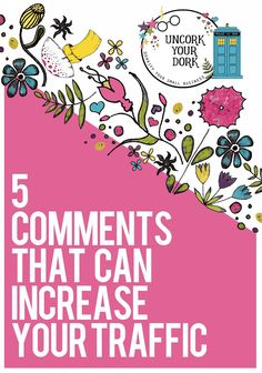 Commenting may not help TOO much in the Google rankings department, but don't let that fool you!! This article gives you 5 different ways you can increase traffic by commenting on other blogger's post.   Terra lays out five different types of comments you can write to generate traffic on your own content and even land a few guest blogging gigs!