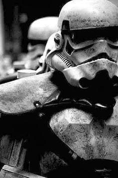 Hardcore stormtrooper.