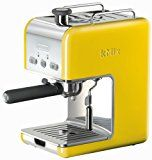 DeLonghi Kmix 15 Bars Pump Espresso Maker, Yellow