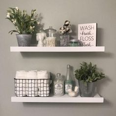 Related posts: 20 Small Master Bathroom Makeover Ideas with Clever Storage 35 Marvelous Farmhouse Bathroom Storage And Organization Ideas 48 Delicate Bathroom Design Ideas For Small Apartment On A Budget Bathroom Shelf Decor, Small Bathroom Organization, Bathroom Storage Shelves, Organization Ideas, Storage Ideas, Bathroom Ideas, Bathroom Cabinets, White Bathroom Shelves, Storage Solutions