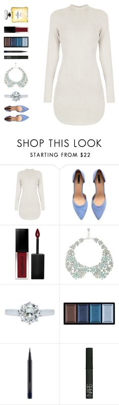 """""""love me or leave me"""" by ouchm4rvel ❤ liked on Polyvore featuring H&M, Smashbox, BCBGMAXAZRIA, Clé de Peau Beauté, MAC Cosmetics, NARS Cosmetics and Chanel"""