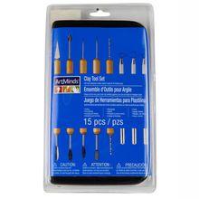 ArtMinds™ Clay Tool Set, 15 Count
