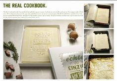 """""""The Real CookBook"""". Es el primer libro que pueden cocinar y comer, ya que sus páginas están hechas con 100 por ciento de pasta fresca, y empaquetado en un plato clásico de lasagna.  Anunciante: GERSTENBERG VERLAG. Agencia: KOLLE REBBE Hamburg, ALEMANI. - Graphic Design & Design Crafts.  http://www.briefblog.com.mx/2012/06/21/alemania-pais-con-mayor-numero-de-leones-de-oro-en-la-categoria-de-diseno/?utm_source=feedburner_medium=feed_campaign=Feed%3A+briefblog+%28Brief+Blog%29"""