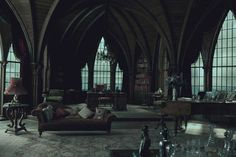 Moving in NOW.  Dark Shadows set, 2012. MUST RECREATE.