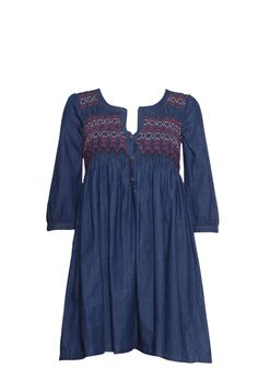 We can all do with a denim dress in the summer - they're super cute and easy to wear!!! We especially love this one from Odd Molly with its embroidered detailing on the front and it's a fab shape for those of you whose pear-shaped!!