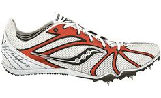 My favorite racing spikes. Saucony Endorphin Md2