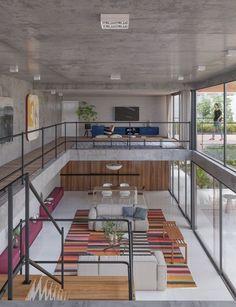Loft Design, Tiny House Design, Modern House Design, Design Room, Couch Design, Design Design, Design Trends, Loft Apartment Decorating, Apartment Couch