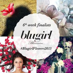 Congratulations to the sixth week finalists of the #BlugirlFlowers2013 Instagram Contest: @evanuvola @alessiacalvano @vivianamori @Rachel Roose. Thank you for joining the competition so far and keep posting pictures until July 30th. The grand-prize winner will be announced on September 2nd.