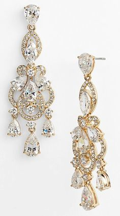 beautiful #gold crystal chandelier earrings http://rstyle.me/n/i9anvr9te