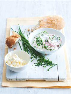 Blesková pomazánka k snídani i svačině! Ricotta, Camembert Cheese, Dairy, Food, Essen, Meals, Yemek, Eten