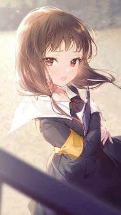 Cool Anime Girl, Cute Anime Pics, Beautiful Anime Girl, Kawaii Anime Girl, Cute Anime Couples, Anime Art Girl, Manga Girl, Anime Girl Drawings, Anime Artwork