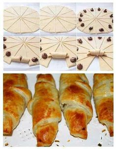 Sweet Recipes, Snack Recipes, Dessert Recipes, Cooking Recipes, Strudel, Delicious Desserts, Yummy Food, Pan Dulce, Bread And Pastries