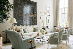 Few designers can capture the essence of sophisticated Southern design like interior designer, Phoebe Howard. Her foray into the design world started with her store in Jacksonville, Florida, Mrs. Howard. Since, she's decorated dozens of beautiful homes, opened two additional stores, and written two books, her first The Joy of Decorating, and now Mrs. Howard Room by Room.