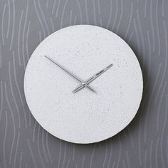 Betonové hodiny nástěnné - Clockies 1706