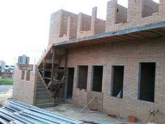 Segundo pavimento - Construção com tijolos ecológicos de solo-cimento