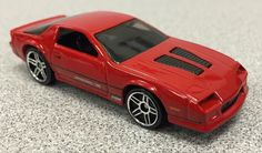 Hot Wheels '85 Camaro IROC Z Z28 Red