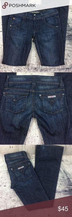 """Hudson flare jeans Hudson flare jeans cotton and spandex blend inseam 32""""rise 7.5"""" see last pic Hudson Jeans Jeans Flare & Wide Leg"""