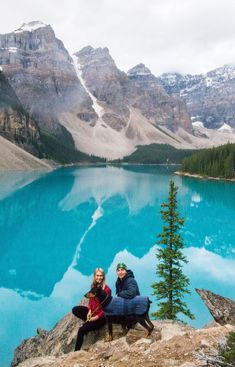 10 Unreal Lakes In Banff, Canada Moraine Lake - Alberta Canada. Banff National Park Canada, Banff Canada, Jasper National Park, Lake Moraine Canada, Canada Canada, Canada Trip, Cool Places To Visit, Places To Travel, Places To Go