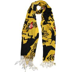 Maryland Horse Racing (Gold) / Scarf #Baltimore #Maryland #Scarves