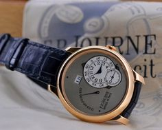 F. P. Journe Octa Reserve De Marche in 18K Rose gold with a Grey Dial 40MM