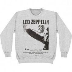 Led Zeppelin Pullover Sweatshirt
