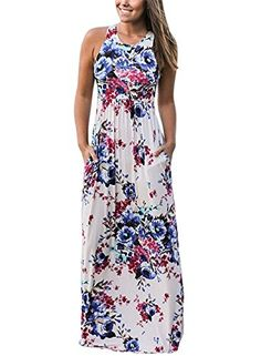 e714c64f42 Shop Vintage Floral Print Sleeveless Pleated Maxi Dress – Discover sexy women  fashion at IVRose