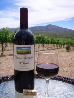 Less than 30 minutes from downtown Tucson, Arizona - Charron Vineyards is the perfect location to enjoy handcrafted Arizona wines and beautiful mountain views from their vineyard tasting room nestled in the Empire mountains.