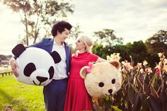 Janet and Darrell's Whimsical Engagement Shoot