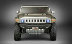 General Motors is considering building a Hummer HX derived Jeep Wrangler competitor under their GMC brand. Gmc Pickup, Hummer Cars, Hummer Truck, New Hummer, Gmc Trucks, General Motors, Cadillac, Detroit, Shopping