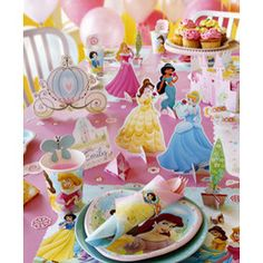 disney princess party decor - Google Search