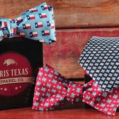 Texas Bow Ties Perfect for a Texan's Father's Day Paris Texas Apparel Co. http://www.paristexasco.com/