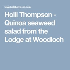 Holli Thompson - Risotto with beets, chard, and brown and wild rice Wakame Seaweed, Seaweed Salad, Beet Salad, Quinoa Salad, Garlic Salad Recipe, Wild Rice, Salad Ingredients, How To Cook Quinoa, Beets