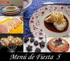 Menu de Fiesta