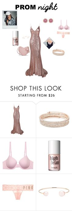 """""""What I would wear to prom 😊"""" by groovegoddess18 ❤ liked on Polyvore featuring Anne Klein, Calvin Klein Underwear, Benefit, Victoria's Secret, Ted Baker and Betsey Johnson"""