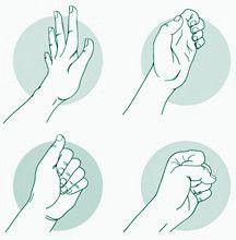 Estiramientos y ejercicios para prevenir el dolor al hacer punto y ganchillo.