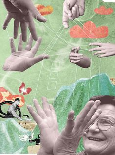 Christian Barthold Collage (full page) on Behance