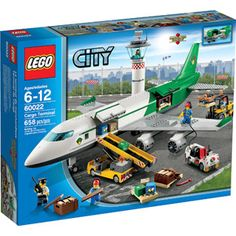 LEGO City Airport Cargo Terminal Play Set---Garrett just wants the plane and the people..and the little white car...not the complete set