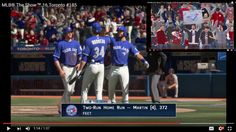 MLB® The Show™ 16 Toronto #185 Russell Martin [HR, 372 feet]